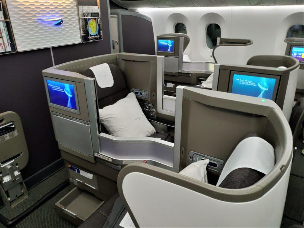 British Airways Club World 787-9